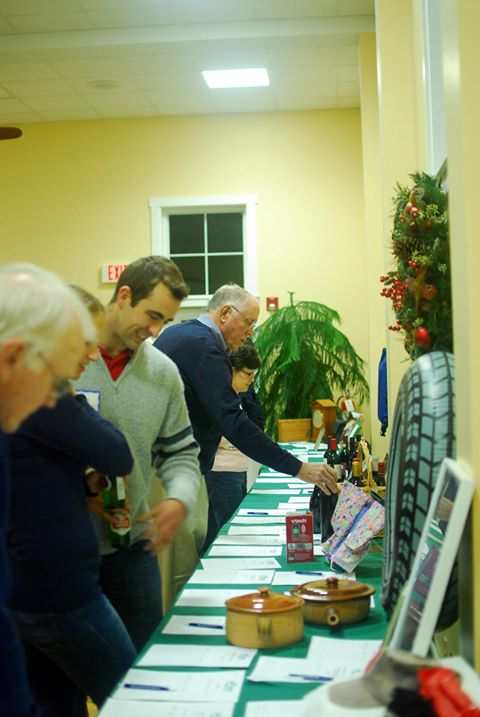 Silent Auction at Annual Gala