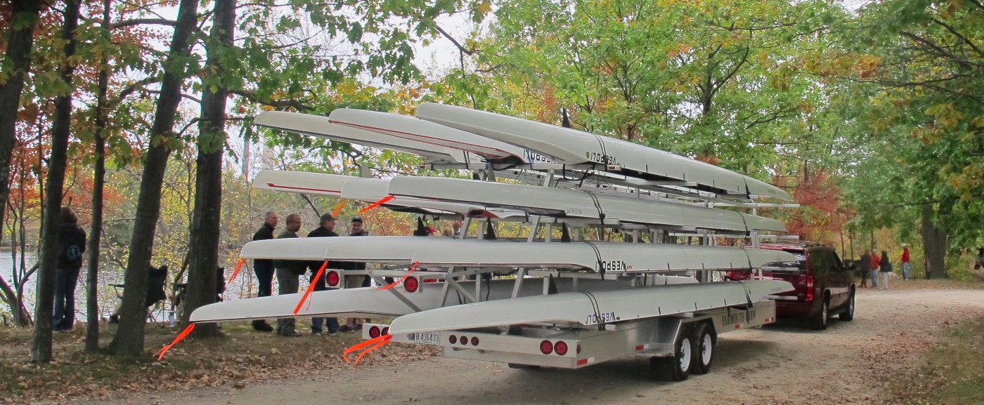 boats on trailer